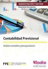 Contabilidad Previsional. Financiacion de Empresas by Varios Autores (2014,...