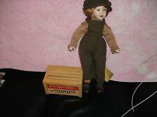 "Franklin Heirloom Porcelain Doll 19"" (c) 1996 Trademark Campbell Soup Co."