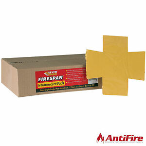 Firespan Single Electrical Socket Intumescent Putty Pads - 170mm x 170mm x 4mm
