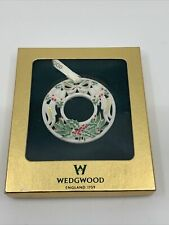Wedgewood Noel 2003 Annual Wreath Ornament