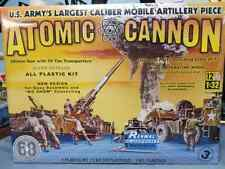Renwal #7811 Atomic Cannon. 1/32nd scale. Sealed.