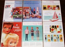 1964 IDEAL DOLL DEALER CATALOG Tammy & Family 60s DOLLS Full Color Repro Pages !