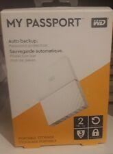 WD MY PASSPORT. 2TB.BLANCO NUEVO PRECINTADO.
