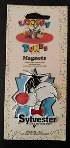 1993 Looney Tunes Magnet, SYLVESTER (New in Package) Warner Brothers 1990's
