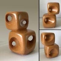 Mid-Century Modern Italian Pottery Bertoncello Ceramic Vase Space Age Modernist