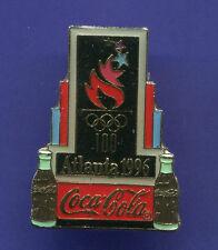 1996 OLYMPIC COCA-COLA PIN COKE BLACK TORCH PIN