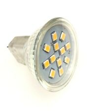5 x12v MR11 2.4w LED Down Light Lamp Caravan Down Light Bulb Warm White 3000k