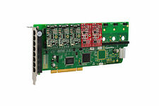 OpenVox A800P32 8 Port Analog PCI Base Card + 3 FXS + 2 FXO, Ethernet (RJ45)