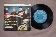 """THE SHADOWS ' THE SHADOWS TO THE FORE '  7"""" VINYL MONO EP"""