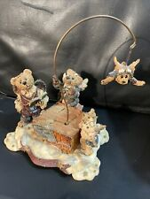 """Boyds Bears - """"The Lesson� Music Box Music Box Not Working Used"""