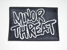 MINOR THREAT EMBROIDERED PATCH