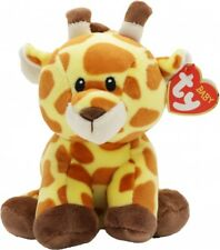 NEW BABY TY BEANIE BOOS REGULAR - GRACIE THE BROWN GIRAFFE 32155