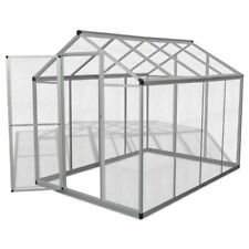 New listing Large Outdoor Aviary Pet Enclosure Flight Bird Cage Small Animal House Metal 8ft