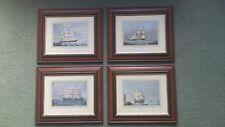 4 X ANTIQUE SHIP PICTURES