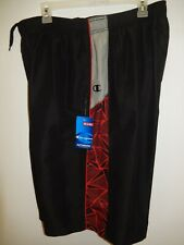 9411-2 Mens Apparel Authentic Champion Mesh Linded Shorts New $29.99