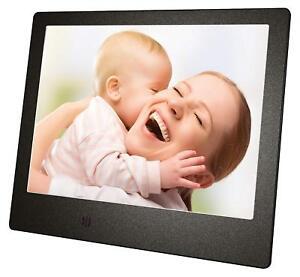 Cadre-Photo Numérique MEDIACOM PFS8W 8'' 20 CM USB Photo MP3 Jpg SD Télécommande