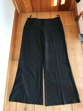trinny and susannah smart grey wide leg trousers uk 14 new unworn