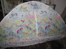 Vintage My Little Pony G1 TENT HIDE AND SLEEP twin sized bed Springs Hasbro 1985
