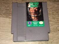 Tecmo Bowl Nintendo Nes Cleaned & Tested Authentic