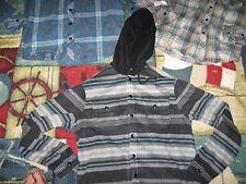 BILLABONG Men's Polar Fleece Jackets with Snap Up Front,NWT, MSRP-$59.00