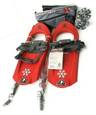 Yukon Charlie's Junior 7x16  Red Snowshoes Kit With Pole & Bag 80-6001K 100 lbs