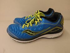 Saucony Boys Youth Kinvara 3 Running Shoes Blue/yellow Sz 10.5W (9607)