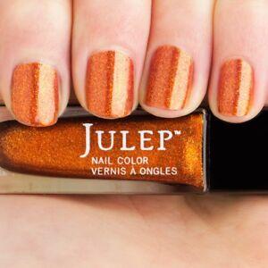 Julep Nail Color in Tatiana Full Size .27 oz boho glam orange halloween sparkle