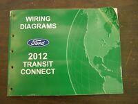 Brand New 2017 Ford Transit Connect Wiring Diagram Dealer Shop Service Manual Ebay