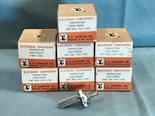 E.F. Johnson 160-130 Variable Capacitor, Panel Mount (New Old Stock)