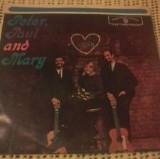 PETER PAUL AND MARY SELF TITLED DEBUT VINYL LP 1962 ORIG OZ MONO PRESS W 1449
