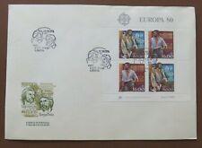 CEPT/Europa Portugal 1980, FDC mit Block 29