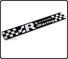 R badge emblème decal sticker vw R20 R32 R36 gti tsi r ligne gtd arrière coffre aile 62
