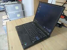 Lenovo ThinkPad T60 Laptop 4 Parts Booted Windows Hard Drive Wiped *