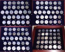 DDR Gedenkmünzensammlung komplett, alle 123 Stück, ohne Box