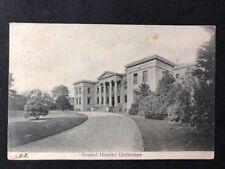 Vintage Real Photo Postcard #TP1218: General Hospital, Cheltenham: Posted 1905