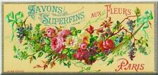 Chic French Pink Metal Rose Shabby Vintage Wall Sign Plaque 11 x 27 cm