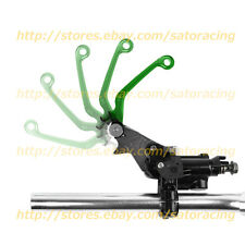 CNC Pivot Brake Clutch Levers For Kawasaki KX85 2001-2013 02 03 04 05 Green New