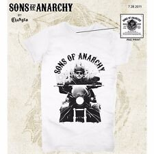 Sons of Anarchy Womens Junior Cut Jax T-Shirt Large