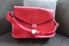 Nathalie Andersen Red Satchel style bag new