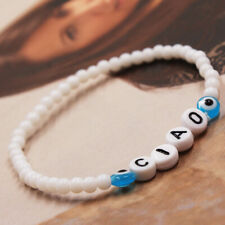 Handmade Bracelet Jewelry Gift Co 6Country Creative Language Letter Hello Beads