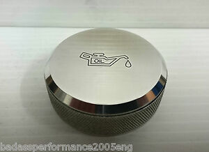ASTRA H VXR OIL CAP COVER, ASTRA, CORSA,VAUXHALL OIL CAP,MIRROR POLISHED.