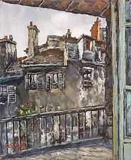 André BOYER (1909-1981) HsT Expressionnisme Ecole de Paris Années 50