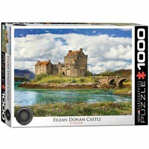 Eurographics Puzzle 1000 Piece Jigsaw - Eilean Donan Castle  EG60005375