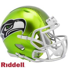 Seattle Seahawks Flash Riddell Speed Mini Helmet  New in Riddell Box