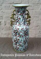 B20171095 - Grand ( 55 cm ) vase en céramique H.Bequet - Quaregnon - Belgique
