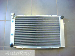 Aluminum Radiator for HOLDEN WB STATESMAN UTE SEDAN 253 & 308 V8 1980-1984 81 82
