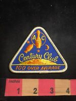 """CSJBA OVER AVERAGE HIGH SCORE AWARD 50 PINS   VINTAGE PATCH 3 /"""""""