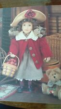 """Boyds Collection Yesterday's Child """"Candice"""" doll  missing Macintosh"""