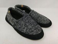 Acorn Men's Black/White Slippers Size 7 5-8.5 US