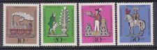 Germany B450-53 MNH 1969 Tin Toys Complete Set Very Fine